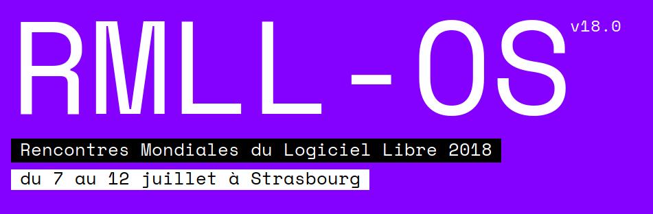Les RMLL c'est le week-end prochain à Strasbourg !