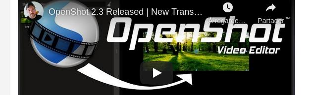 OpenShot, libérez-vous d'iMovie et de Movie Maker