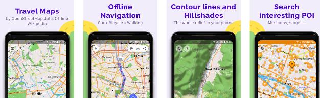 OsmAnd~ votre GPS Libre !