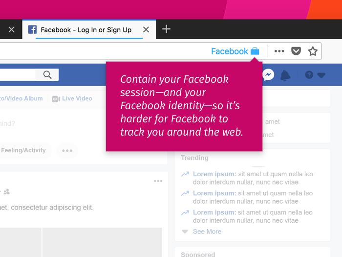 Nouvelles – Le nouveau « Facebook Container » de Mozilla, encore plus efficace.
