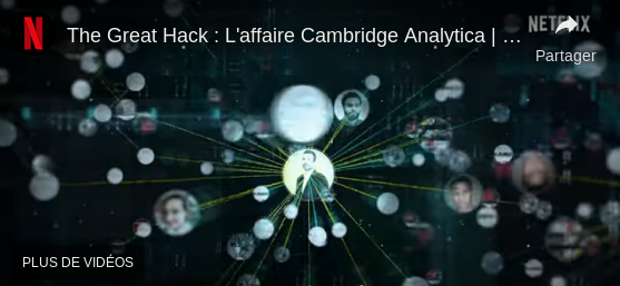 Conseil de visionnage – The great hack : l'affaire Cambridge Analytica