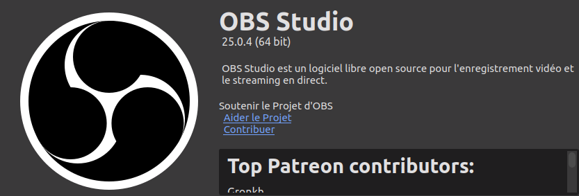 OBS – votre live vidéo Libre