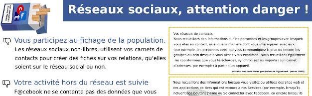 Réseaux sociaux : attention danger !