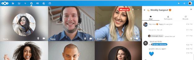 Talk, vidéoconférence libre