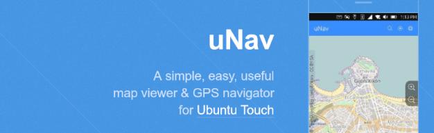 uNav GPS pour UbuntuPhone