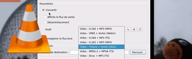 Extraire le son d'une vidéo – VLC