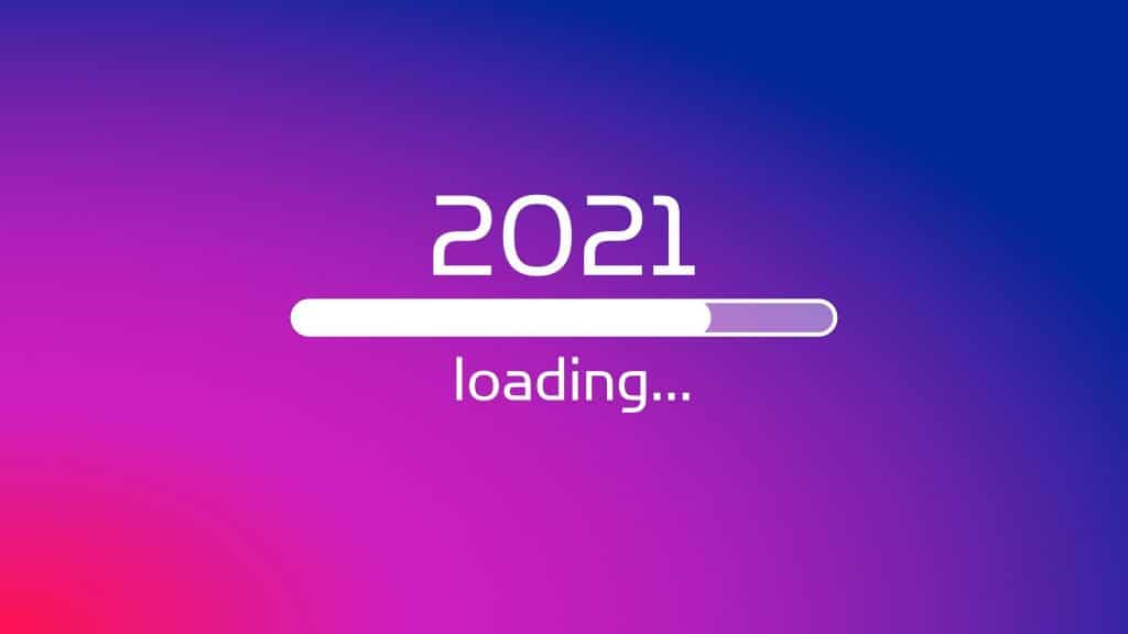 barre de chargement pour 2021