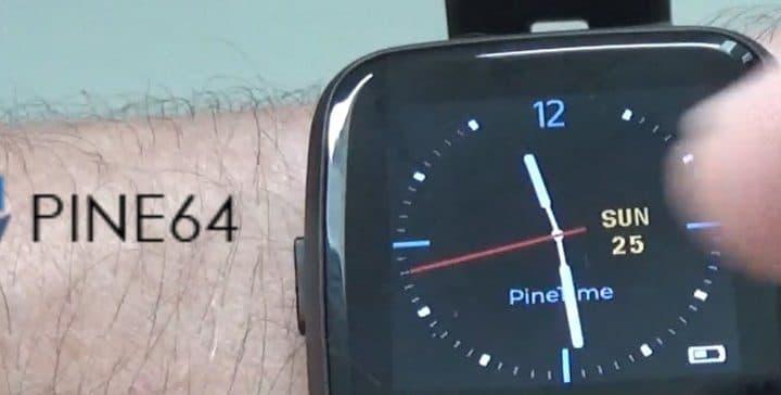 PineTime, la smartwatch open source !